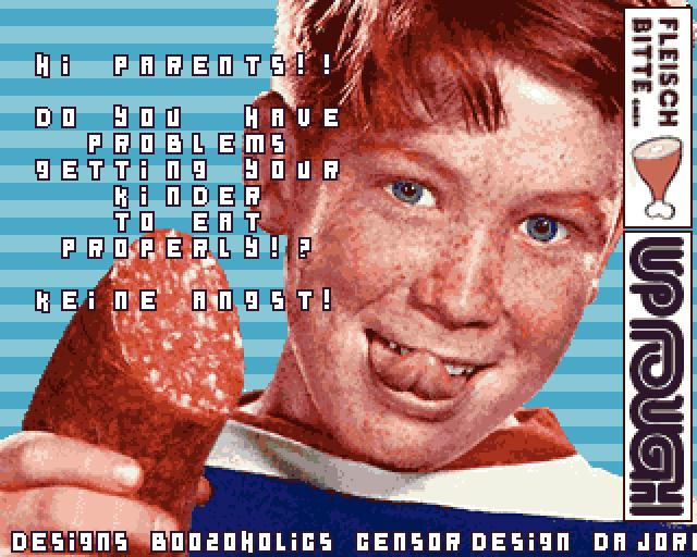 Fleisch Bitte GMBH Ad 001 – HTML version released!