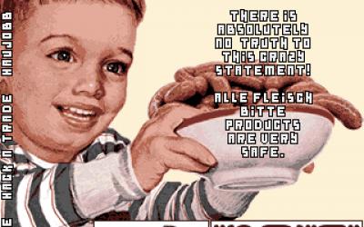 Fleisch Bitte GMBH Ad 002 – the HTML version!