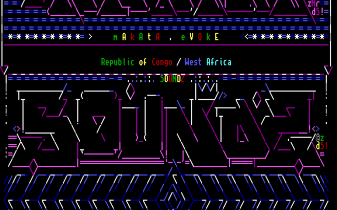 #182: All our Amiga ANSI from Evoke 2015