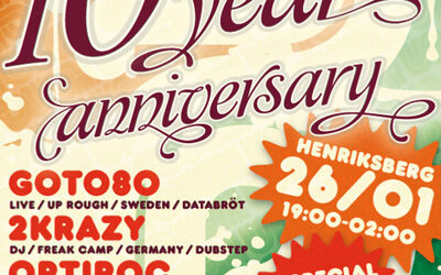 News: Up Rough 10 Year Anniversary Party!