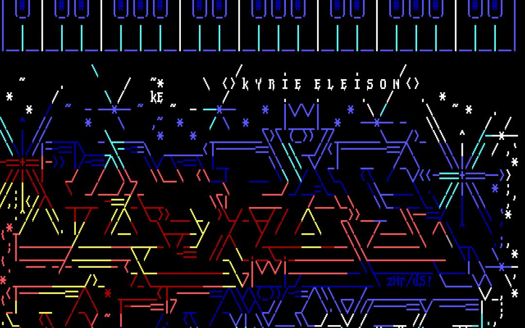 #185: Vandalism Orchestra Kyrie Eleison